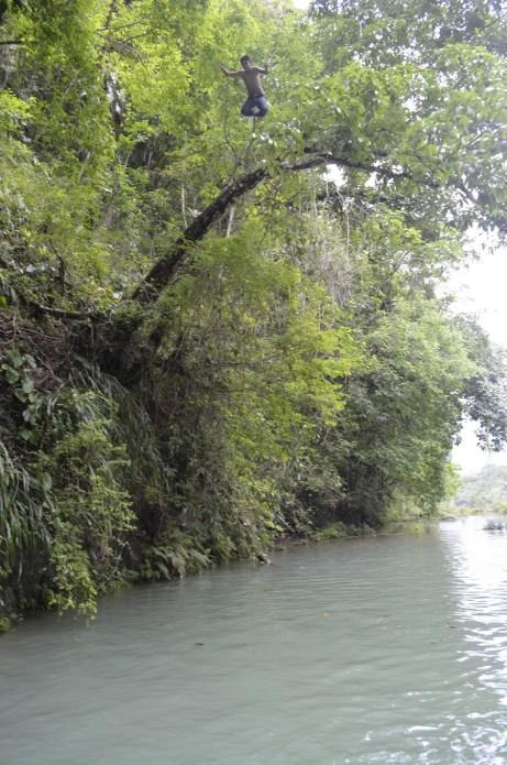Saltos-en-Semuc-Champey-desde-los-árboles
