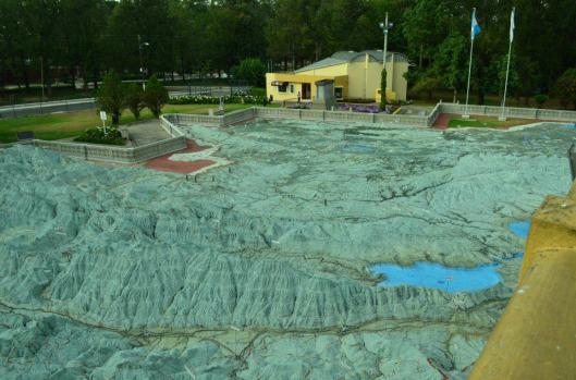 Mapa en Relieve en el Hipodromo del Norte foto por Miguel Santizo - Guía Turística – Mapa en Relieve de Guatemala