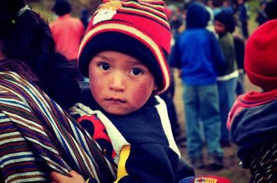 Rostros de niños 10 Fotografía por Jess Herrarte - Rostros de Esperanza en Sololá por Organización HOPE Worldwide