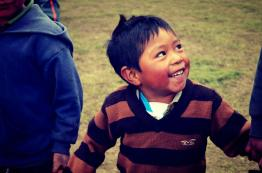 Rostros de niños 6 Fotografía por Jess Herrarte - Rostros de Esperanza en Sololá por Organización HOPE Worldwide