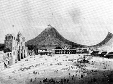Santiago de los Caballeros de Guatemala - El Cabildo en la Colonia
