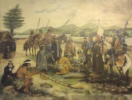 españoles e indígenas - El Cabildo en la Colonia