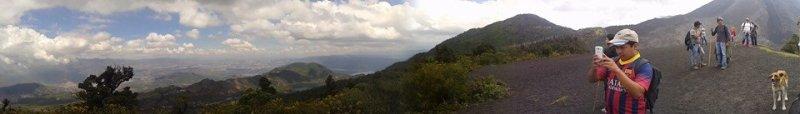 Vista panorámica del valle central de Ciudad de Guatemala - Guía Turística - Volcán de Pacaya