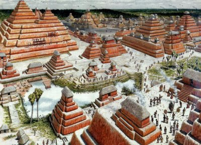 fotos del mirador 2 - Radar en 3D permite conocer carreteras utilizadas por los Mayas en el Reino Kan