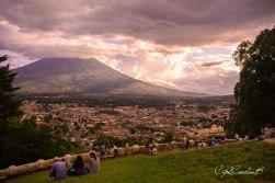 Cerro de la Candelaria, Mirador de la Cruz, La Antigua Guatemala - foto por Carlos Cordón