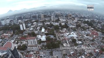 Video Aéreo – Ciudad de Guatemala y playa de Sipacate