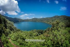 Laguna de Ipala Chiquimula foto por Galas de Guatemala - Guía Turística - volcán y laguna de Ipala