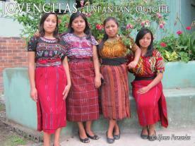 Trajes indígenas de Uspantan, Quiché - foto por Alfonso Fernandez B