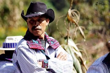 Traje indígena de Huehuetenango - foto por Bresner Morales