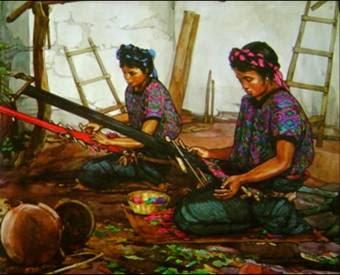 Trajes Tipicos Santa Maria de Jesus Quetzaltenango 1 - Los coloridos trajes indígenas de Guatemala