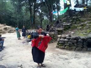 Una indumentaria especial es utilizada para la ceremonia