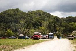 5 parqueo - Guía Turística - Balneario Las Pozas, Macháquila, Poptún, Petén