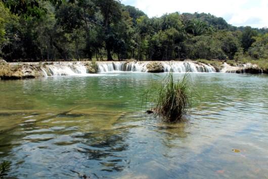 balneario las pozas - Guía Turística - Balneario Las Pozas, Macháquila, Poptún, Petén