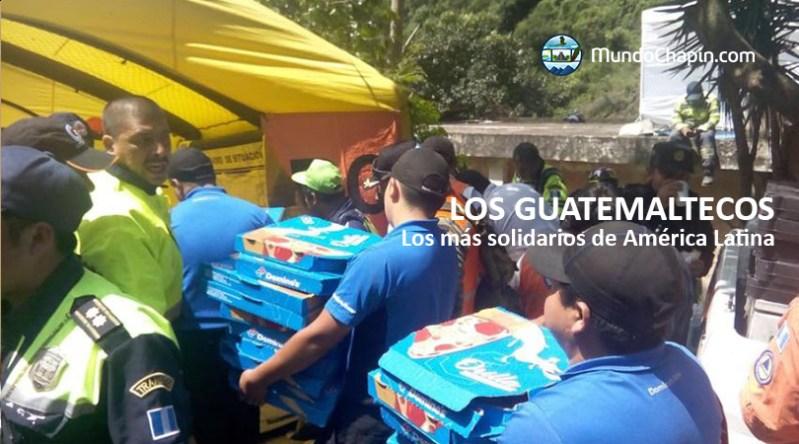 Los guatemaltecos son nombrados los más solidarios de América Latina