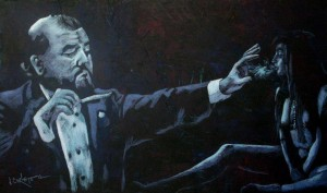 Fotografía por J Corleto 2 300x177 - Jorge Corleto, muralista y pintor