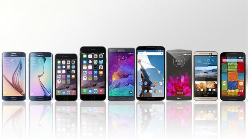 2015 smartphone comparison guide 1 1024x574 - 5 Ventajas de los Smartphones Liberados vs. Smartphones con Contrato