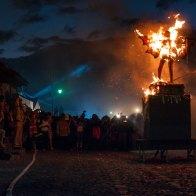 Quema del Diablo en La Antigua Guatemala - foto por Santiago Billy Prem