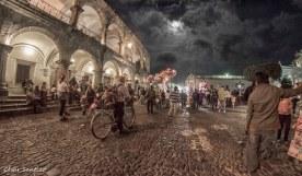 Una noche an La Antigua Guatemala - foto por Cesar Santizo