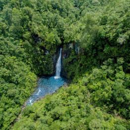 Cascada en Alta Verapaz - foto por Carlos Lopez Ayerdi