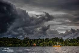 Tormenta en Rio Dulce foto por Dany Lopez - Galeria de Fotos de Guatemala por Dany Lopez