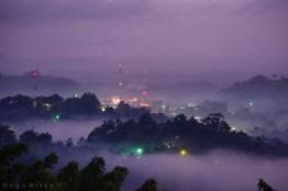 anochecer en san luis peten foto por hugo altan - Galeria de Fotos de Guatemala por Hugo Altán
