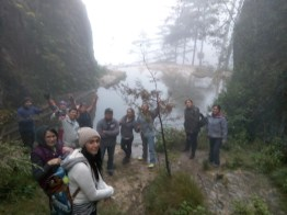 Laguna al final del Sendero en La Maceta - Guía Turística -  Sendero Ecológico La Maceta
