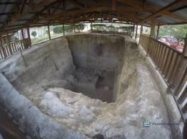 """lugar de excavacion en el mamut - Guía Turística - Sitio Paleontológico """"El Mamut"""""""