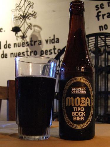 Cerveza Moza - foto: Armando Mazariegos