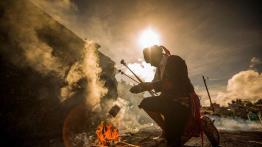 Ceremonia Maya en Chichicastenango foto por Ivan Castro - 5 lugares imperdibles en Guatemala
