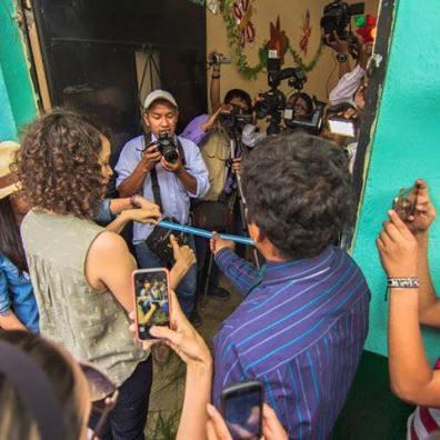 Gaby Moreno - foto por Gaby Moreno Facebook, Purulhá, Baja Verapaz