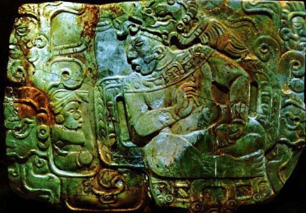 Placa de Jade de Nebaj Quiche - mayasautenticos