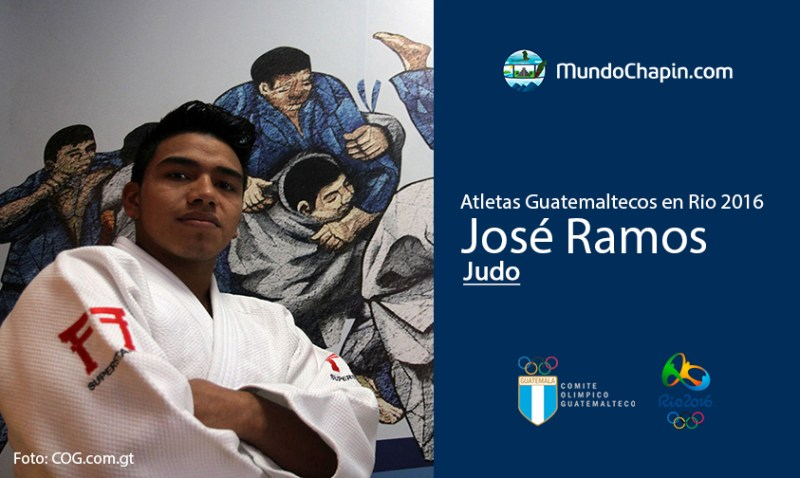 jose ramos rio2016 2 mundochapin - Los 21 atletas guatemaltecos en Río 2016