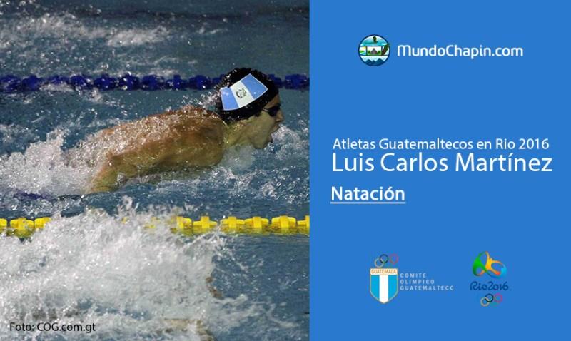 luis carlos martinez rio2016 mundochapin - Los 21 atletas guatemaltecos en Río 2016