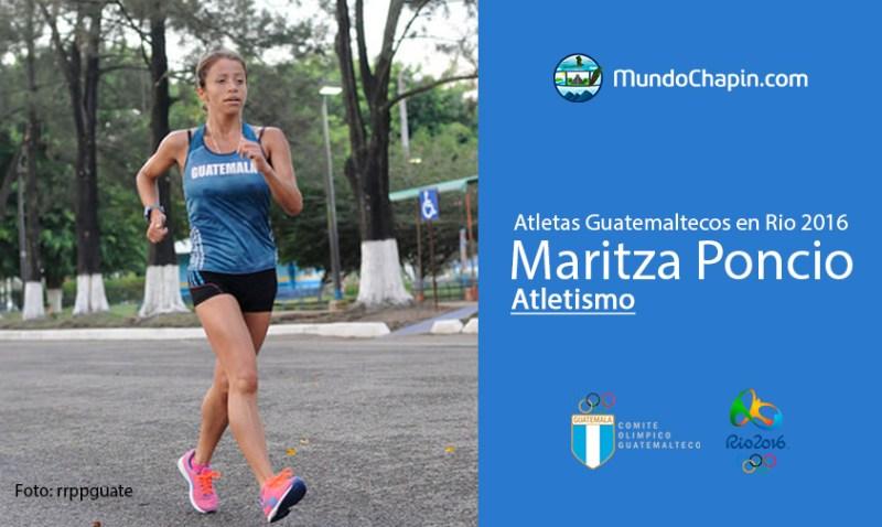 maritza poncio rio2016 mundochapin - Los 21 atletas guatemaltecos en Río 2016