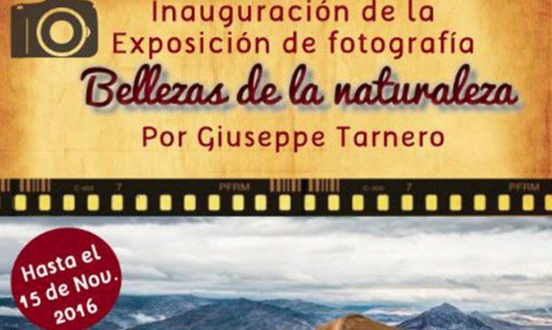 """Evento – Inauguración, exposición fotográfica: """"Bellezas de la naturaleza"""""""