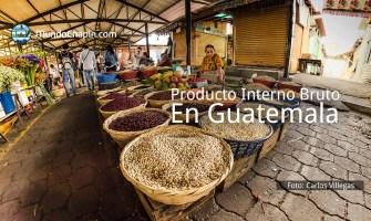 El Producto Interno Bruto – PIB – en Guatemala, 2015