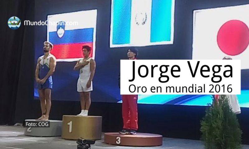 Jorge Vega gana oro en Copa del Mundo 2016