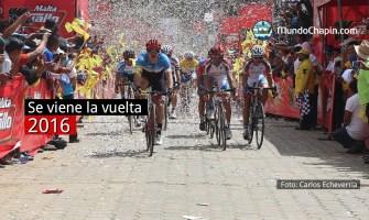 Se viene la vuelta ciclística 2016