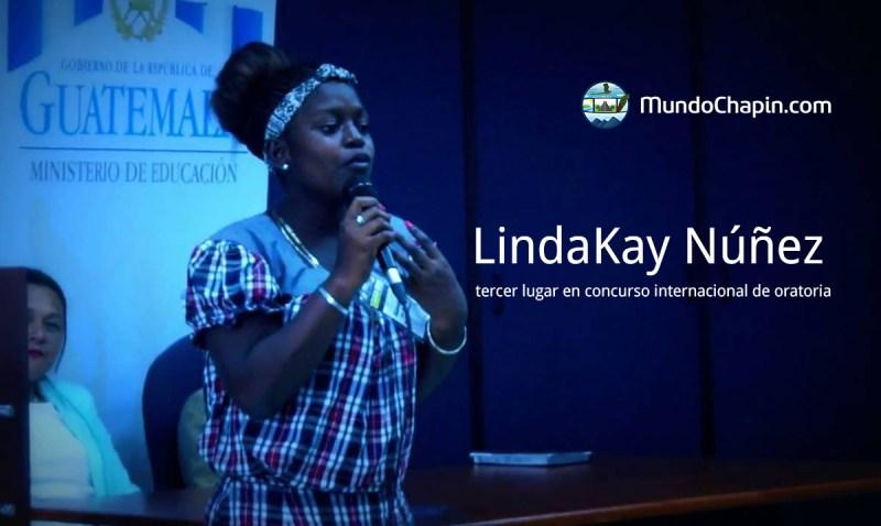 LindaKay gana tercer lugar en concurso internacional de oratoria
