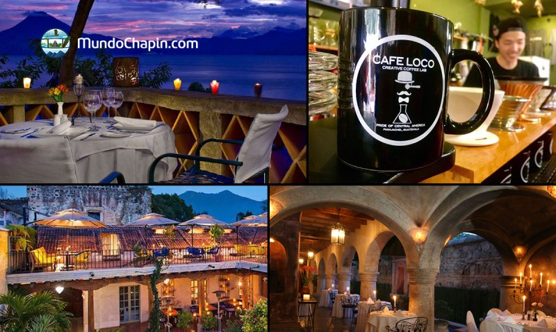 5 lugares para comer y beber en el lago de Atitlán y La Antigua Guatemala