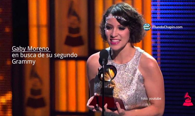 Gaby Moreno en busca de su segundo Grammy