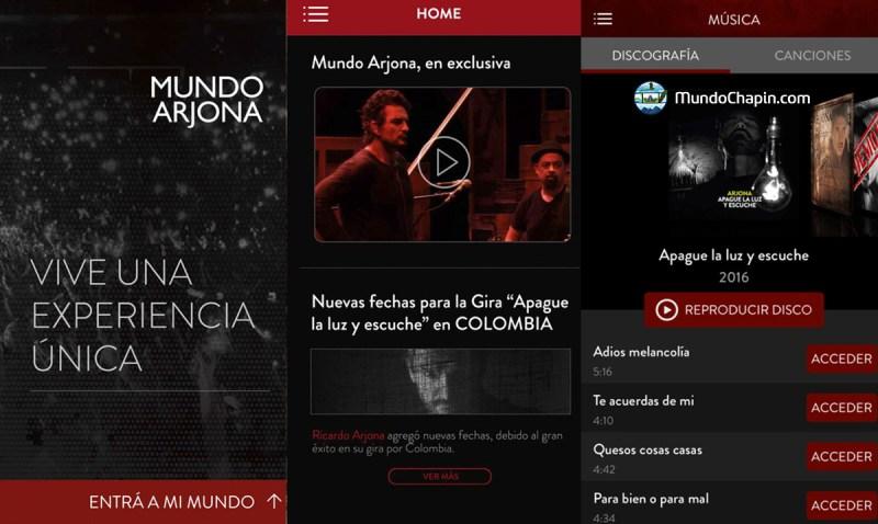 arjona app mundochapin guatemala - Ricardo Arjona saca nuevo sencillo