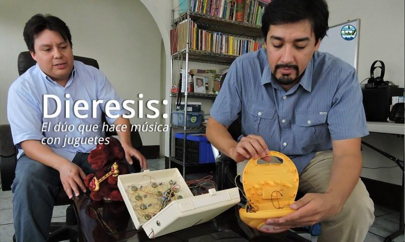 Dieresis: El dúo que hace música con juguetes