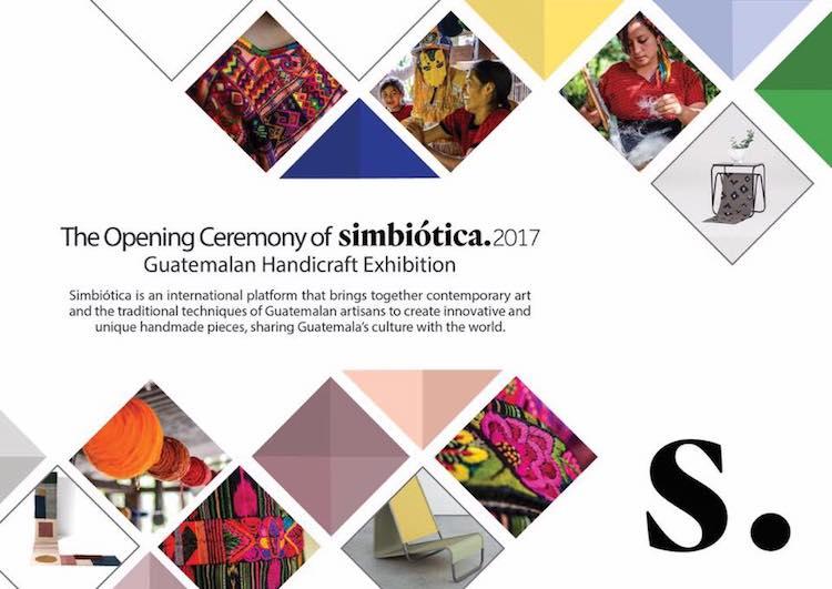 simbiotica 2017 - El trabajo de artesanos guatemaltecos se exhibirá en Taiwán