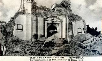 Principales Terremotos del Siglo XX en Guatemala