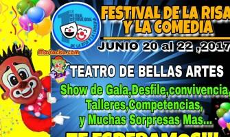 No te pierdas el primer Festival Internacional de la Risa en Guatemala