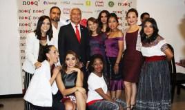María Mercedes Coroy se convirtió en la nueva imagen de ropa Nooq'