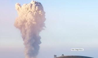 Volcán de Fuego registra 35 explosiones en 24 horas
