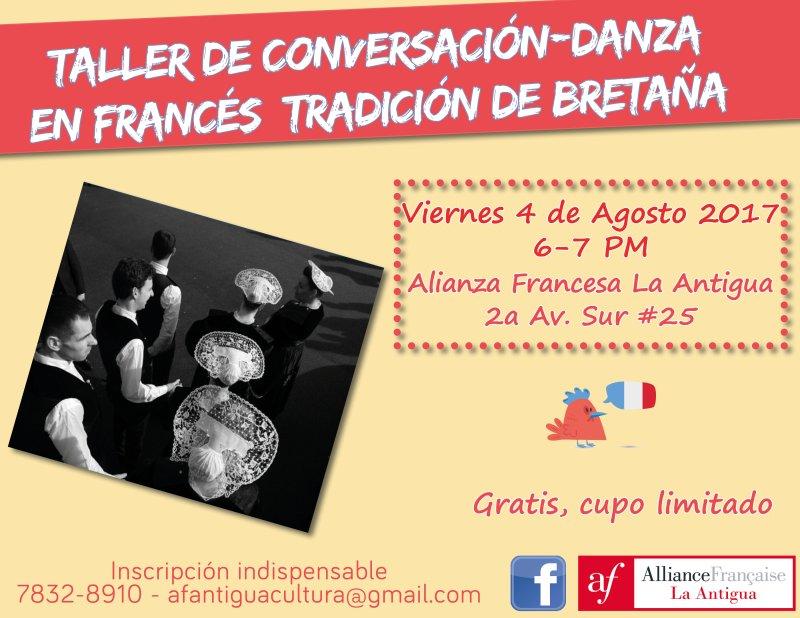 08afa - Agosto en la Alianza Francesa de La Antigua Guatemala