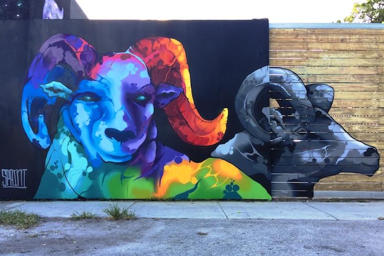 cabros custom concrete design miami design district 2017 - El arte urbano de Spaint se luce en Miami